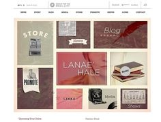 Lanae Hale retro looking website. Nice type and muted colors. Grid Web Design, Web Grid, Web Design Gallery, Web Design Examples, Creative Web Design, Graphic Design, Business Inspiration, Web Design Inspiration, Grid Layouts