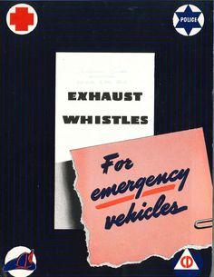 Siren advertisement, circa 1941