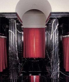 """Ejemplo de Art Deco. Los interiores de la villa Karma en Vivee. Adolf Loos - un firme opositor del Art Nouveau, el autor del artículo programa """"Ornamento y delito"""". Él creía que la arquitectura de lo más importante - las proporciones y materiales de lujo, el resto - la vanidad. En este sentido, el papel de pionero Art Deco Loos se adapta peor que Frank Lloyd Wright."""