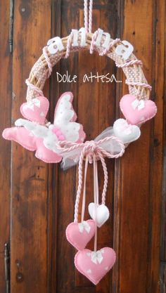 FIOCCO ANNUNCIO NASCITA FARFALLA, by Dolce attesa, 19,00 € su misshobby.com Hobbies And Crafts, Diy And Crafts, Arts And Crafts, Baby Kranz, Mickey Drawing, Mehandi Henna, Sheep Nursery, Ballerina Baby Showers, Butterfly Birthday Party