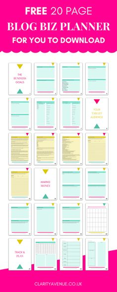 Printable 2018 Blog Planner - I've been looking for something like this to plan my blog this year! Way better than the free options I've found! This #blog planner has weekly planner pages, blank monthly calendar, product planning worksheet, quarterly goal setting page, collaborations tracker, blog post idea + website stats tracker, affiliate product listing & more! I already downloaded mine! #bloggingtips #blogging