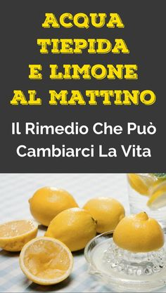 #rimedinaturali #acquaelimone #limone