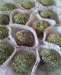 Σοκολατάκια μπισκότου με αμύγδαλα!