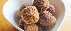 Star anise & cinnamon raw chocolate truffels