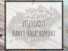 Itsetehty Kahvi-palasaippua - Saippuan valmistus Melt and Pour -saippuamassasta Calm, Cover, Artwork, Instagram, Work Of Art, Auguste Rodin Artwork, Artworks, Illustrators