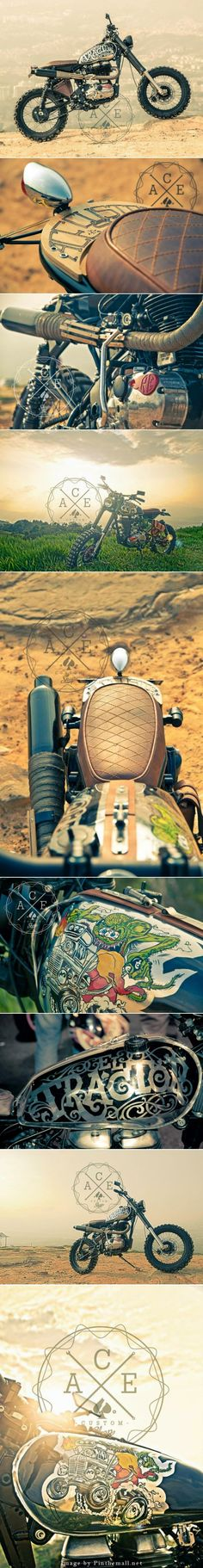 For Motorcycle fans: El tractor Click to read more about