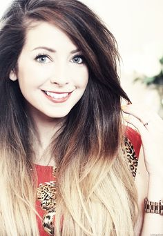 Zoella!! shes apretty bubbly fun cheeky girl u should totally check her out on youtube