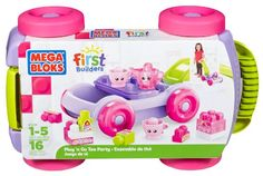 Mega Bloks First Builders Tea Party -- This is an Amazon Affiliate link. See this great product.