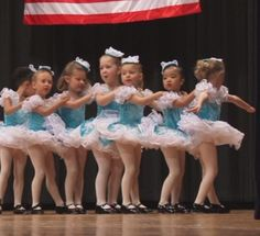 """One of my cute tiny tot dance classes did a tap dance to """"Wee Rockettes""""!  JoAn"""