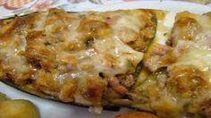 Berinjela Recheada Com Carne Picada - Receitas e Dicas do Chef