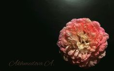 пион из ткани ,  #handmade #handmade_accessories #accessories #ручная_работа #цветы_из_шелка #брошь #цветы #украшения #розы #цветы_из_ткани #цветы_на_заказ #цветы_ручной_работы #flower_khv #akhmedova_a #silk_flowers #хабаровск