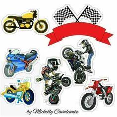 Moto no graua Motorcross Cake, Bolo Motocross, Motorcycle Party, Motorcycle Cake, Motor Cake, Racing Cake, Moto Cross, My Little Pony Birthday, Car Themes