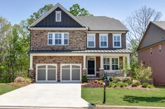 Craftsman home design.