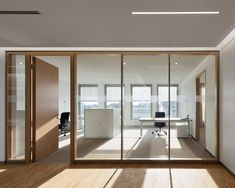 Open Office Design, Corporate Office Design, Office Interior Design, Office Interiors, Glass Partition Wall, Partition Design, Office Lounge, Office Walls, Office Doors