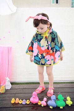 Annika cute rain poncho