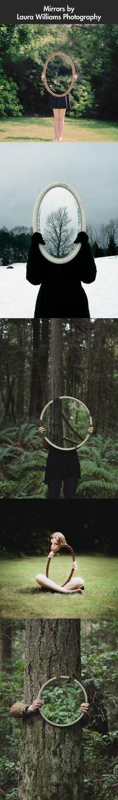 Playing with mirrors… what a great idea! **We Offer Custom Picture #Framing, #ArtRestoration & #Art Gallery! Tweet Us: www.twitter.com/AFrameOfArt, Like us on FB: www.facebook.com/AFrameOfArt, Our Home www.AFrameOfArt.com