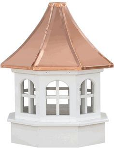 Salisbury Windowed Gazebo Cupolas - The Estate-Gazebo Series Cupolas are elegantly designed and will make a great addition to your gazebo or other outdoor structure.