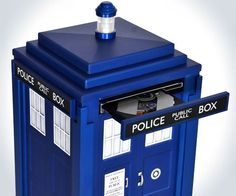 The TARDIS PC...  oh good heavens, why has no one gotten this for me yet? How did I NOT know about this??!!