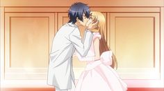 love stage izumi x ryoma - kiss kiss fall in love. Th funny thing is that with ouran high school host cub tamaki though that she was first a boy but with love stage ryome thirst think he is a girl. Love Stage Anime, Princess Zelda, Boys, Fictional Characters, Wallpaper, High School, Ships, Google Search, Fall