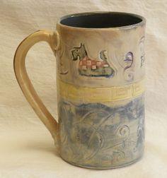 Stoneware Scottie Dog mug