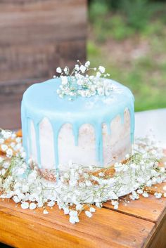 An Outdoor Chic Rustic Intimate Ocassion Baby Shower Party Ideas | Photo 1 of 63