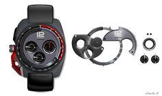 Peugeot Concept Watch TP001 - Car Body Design
