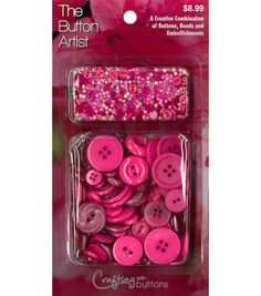 The Button Artist Buttons