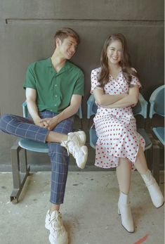 Kisses Delavin and Donny Pangilinan Donny Pangilinan Wallpaper, Filipina, Aesthetic Pictures, Korean Fashion, Fangirl, Fashion Dresses, Celebs, Street Style, Couples