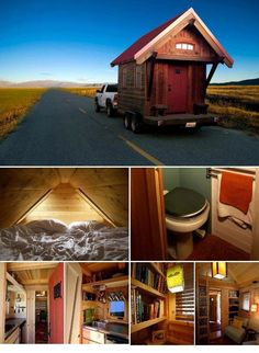 Tiny house on wheels - cool!