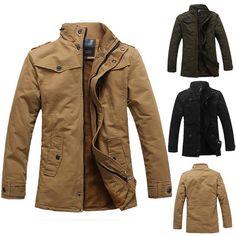 GRAN VENTA Invierno Hombre Abrigos Chaquetas Parka Coat Jacket Blazer Gabardina   eBay