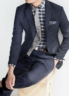 knit tie always good.
