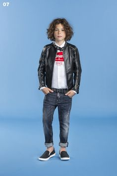 My favorite look from @Dsquared2 SPRING SUMMER 2016 KIDS JUNIOR BOY NUMERATI