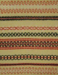 KässÄs: vohvelikirjontaa Beaded Embroidery, Cross Stitch Embroidery, Swedish Weaving, Handicraft, Sewing Crafts, Needlework, Arts And Crafts, Knitting, Fabric