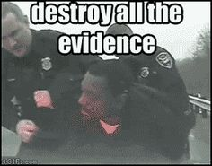 Destroy all the evidence