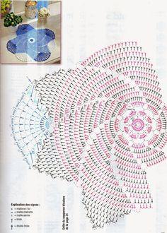 Best 12 crochet patterns for doilies – SkillOfKing. Filet Crochet, Crochet Doily Diagram, Crochet Mandala Pattern, Doily Patterns, Thread Crochet, Crochet Doilies, Crochet Flowers, Knit Crochet, Crochet Patterns