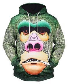 The Mountain Lion Warrior Animal Nature Adult Unisex Hoodie Sweatshirt 723180
