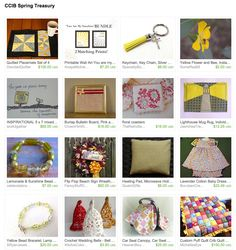 *Great gifts for spring! Curated by Colorado Crafts 5/4/2015