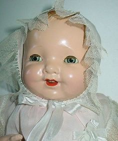 "19"" Composition Baby Brite Mama Doll by Madame Hendren"