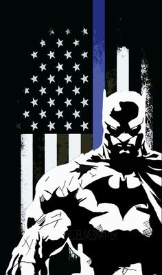 Batman Phone, Im Batman, Super Hero Tattoos, Cop Land, Sheepdog Tattoo, Police Tattoo, All Batmans, Police Flag, Female Cop