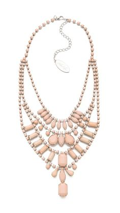 peach layer necklace :: gorgeous!