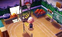 11 Best Acnl Gym Ideas Images In 2020 Acnl Animal Crossing Animal Crossing Qr