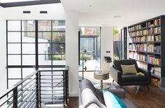 Stylish, modern home in London from our clients at Granit chartered Architects. #Architecture #Homes #interiors