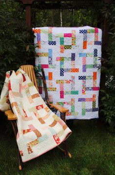 PDF quilt PATTERN baby to king Charm Squares Layer by sweetjane, $9.00