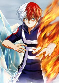 Boku no Hero Academia: Todoroki Shouto by Mizashi on DeviantArt