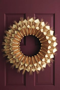 Greet your holiday guests with these festive Thanksgiving wreaths. Choose one of these easy DIY and homemade wreaths, and consider your holiday decorating done.