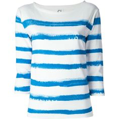 CATS BY TSUMORI CHISATO Striped T-Shirt ($68) found on Polyvore