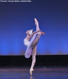 From the ballet, Swan Lake....what amazing agility and talent!