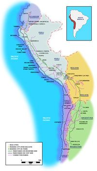 The Inca Road system ~ 1453 - 1533