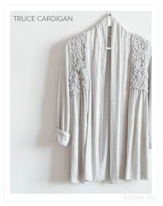 Stitch Fix Truce Cardigan - cute. I like cardigans, and like the detail on this one. It's different.