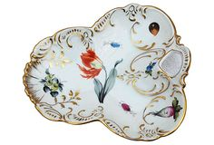 1910-1950 Hand-Painted Floral Dish from Hungary on OneKingsLane.com